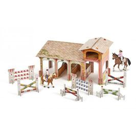 Pony Club mit 4 Figuren PAPO