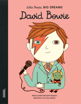 Buch Little People Big Dreams - David Bowie