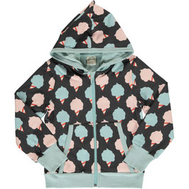 SALE Maxomorra Cardigan Hood Sweet Cotton Candy