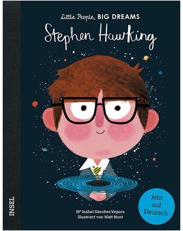 Buch Little People Big Dreams - Stephen Hawking