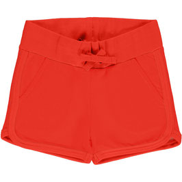 Maxomorra Runner Short Poppy