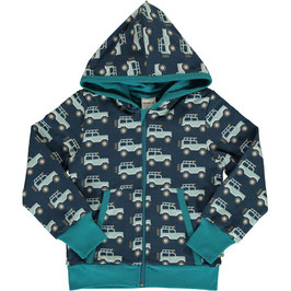 SALE Maxomorra Cardigan Hood Adventure Jeep