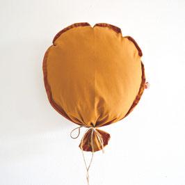 Wanddeko Ballon Cognac