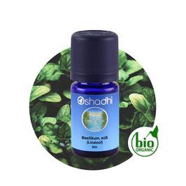 Basilikum, süß (Linalool) Bio - 5 ml