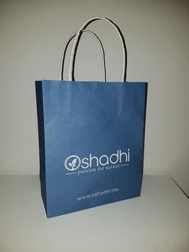 OSHADHI Papiertragetasche - blau