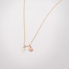 """Médaille mini """"Croix"""" ou """"Trèfle"""