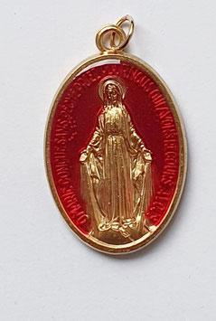 "Médaille ""la Majestueuse"" rouge"