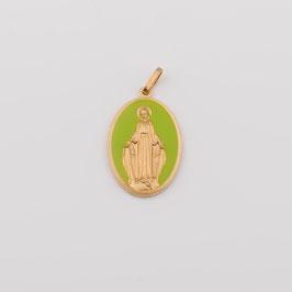 """Médaille """"la Grandiose"""" vert anis"""