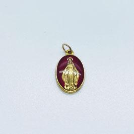 """Médaille """"La Miraculeuse"""" rouge"""