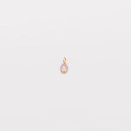 """Médaille """"La petite Miraculeuse"""" parme"""