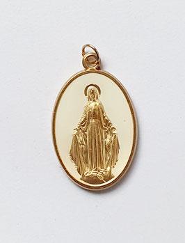 """Médaille """"la Majestueuse"""" blanche"""