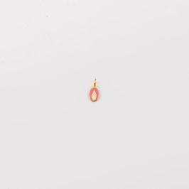 """Médaille """"La petite Miraculeuse"""" rose lollipop"""