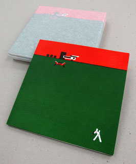 """PAUL LOUBET - """"Jungle Drône Jungle""""  PACK = Livre + Lithographie"""