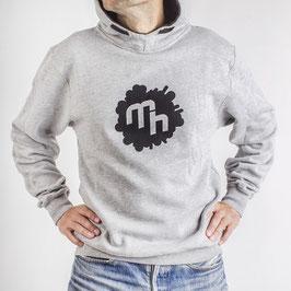 Logo Hoodie - Boys - Grey