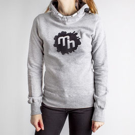 Logo Hoodie - Girls - Grey