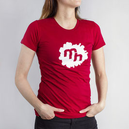 Logo Shirt - Girls - Red