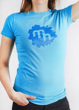 Logo Shirt - Girls - Lightblue
