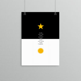 Kunstdruck - Die Mitte der Nacht...