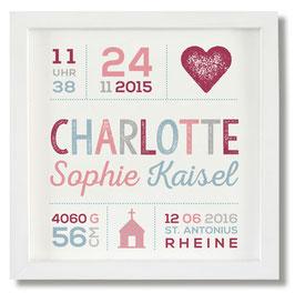 Geburtsbild Charlotte