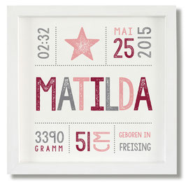 Geburtsbild Matilda