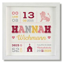 Geburtsbild Hannah