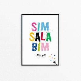 Kunstdruck - Sim Sala Bim....