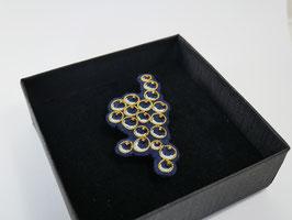Broche Grappe de caviar