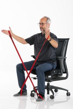 Bewegtes Sitzen