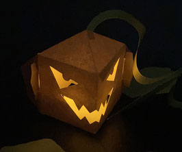 Pop-Up Jack-o'-Lantern Card