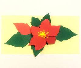 Pop-Up Poinsettia Lantern Card