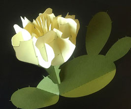 Pop-Up Prickly Pear Cactus Card