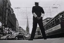 Hamburg - Verkehrspolizist