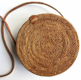 Brown light roundiebag