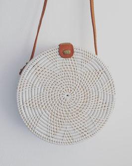 White roundiebag