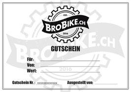 BroBike Gutschein