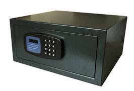 Zimmersafe -Türanschlag rechts - Steckdose/2 x USB innen