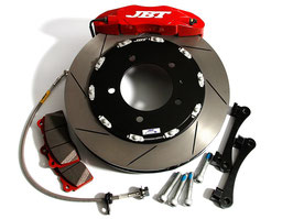 JBT COMPLETE BRAKE KIT 4POT FRONT SET