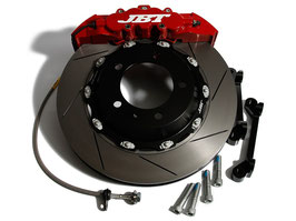 JBT COMPLETE BRAKE KIT 8POT FRONT SET