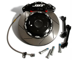 JBT COMPLETE BRAKE KIT 6POT FRONT SET