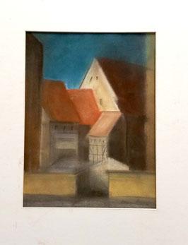 "Original Pastell ""Altstadt Zittau"""