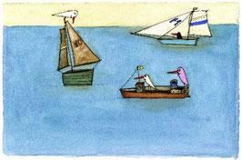 """Limitierter Kunstdruck von Holger Koch """"Ruhige See"""""""