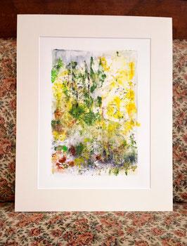 """Original Acrylmalerei """"Waldlandschaft III"""""""