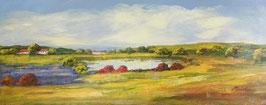 """Ölbild """"Landschaftsblick"""" von Madjid"""