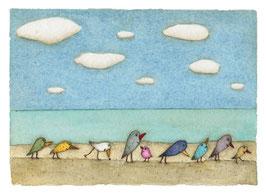 """Limitierter Kunstdruck von Holger Koch """"Darf es, bitte schön, etwas Meer sein?"""""""