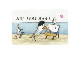 "Limitierter Kunstdruck von Holger Koch ""Ah! Renshoop"""