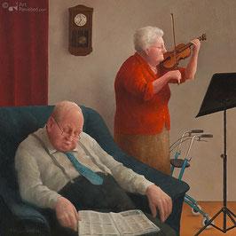"""Fine Art Kunstdruck auf Canvas """"Lullaby"""""""