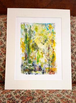 "Original Acrylmalerei ""Waldlandschaft II"""