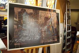 "Lithografie ""Frauenkirche - Orgel"""