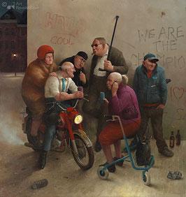 """Fine Art Kunstdruck auf Canvas """"Zweite Jugend"""""""