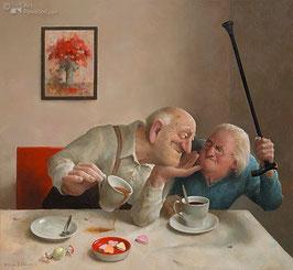 """Fine Art Kunstdruck auf Canvas """"Unerwiderte Liebe"""""""